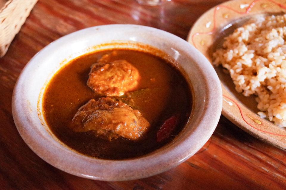 元気になるために食べに行く、岡山市北区御津「マハラジャ」のカレー