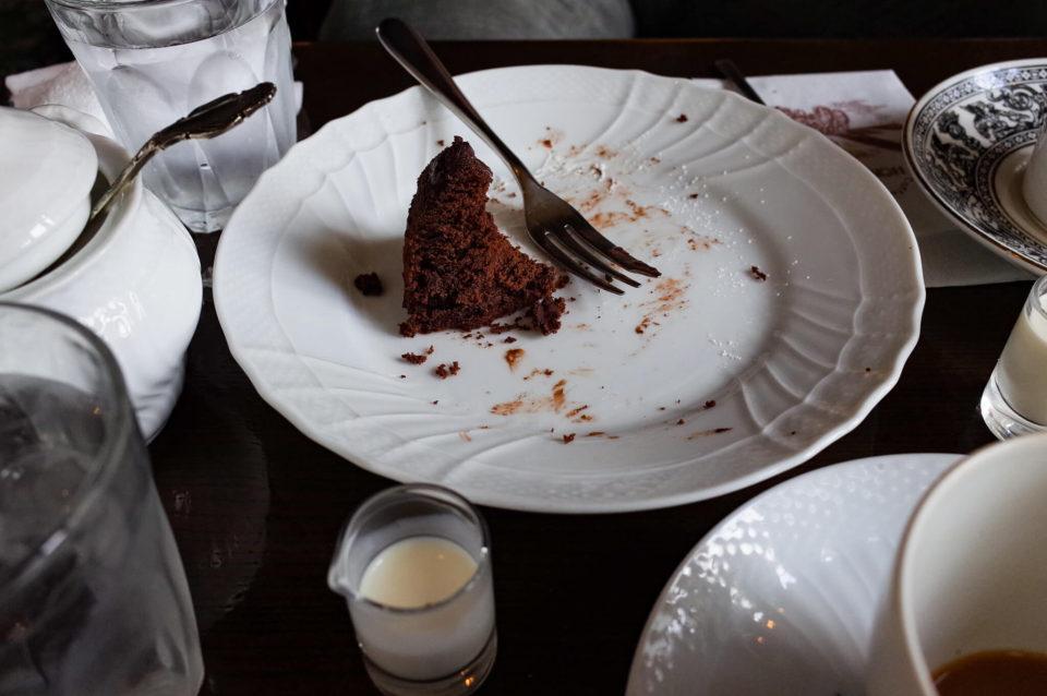 食べかけの写真を撮るのが好きなんです。