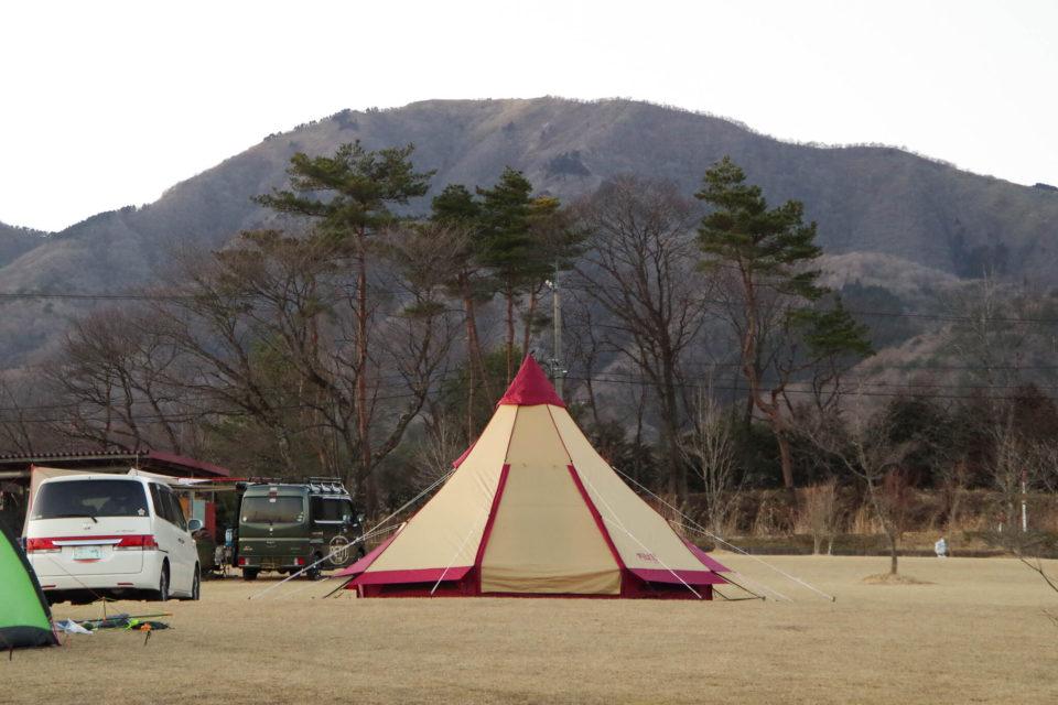 春休みの2泊3日キャンプ@中蒜山オートキャンプ場