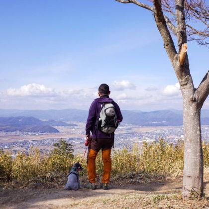 山頂から総社方面の眺め。