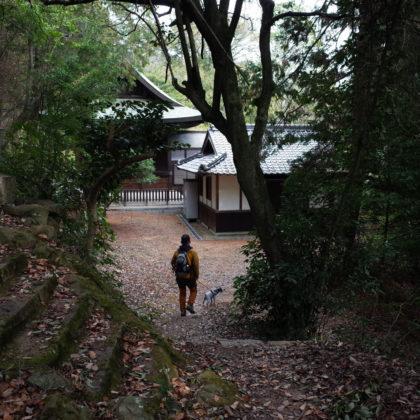 安養寺の敷地に到着。