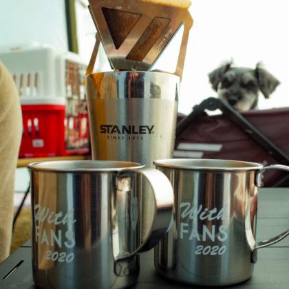 ファジのFC会員向けに昨年配られたカップで珈琲タイム