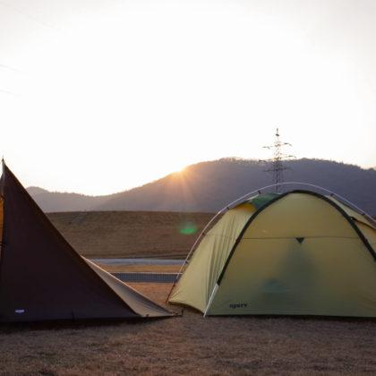 山に囲まれているから日暮れが早い