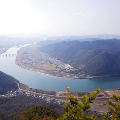 大内ふれあい公園も瀬戸吉井川緑地も丸見え