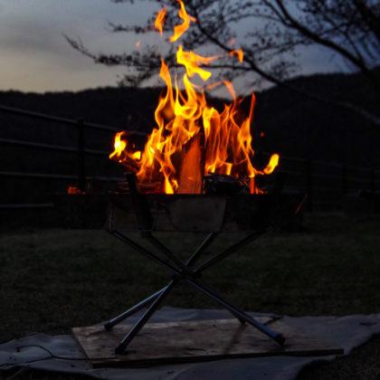 久しぶりに焚き火満喫