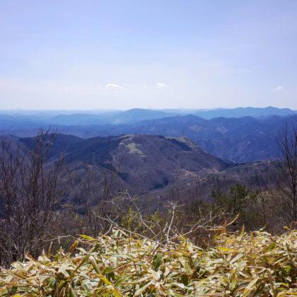山頂から南側の景色