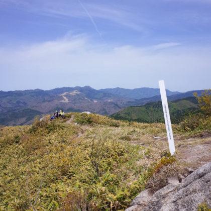 山頂っぽいけどこれは手前の眺望抜群スポット。
