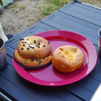 前日に買っておいたパンと、水出ししておいたアイスコーヒーで朝ごはん